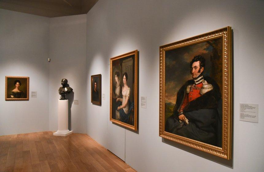 Выставка «Аристократический портрет вРоссии XVIII– начала XXвека»