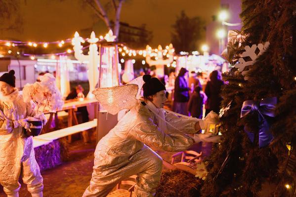 Новогодняя ночь всаду «Эрмитаж» 2017