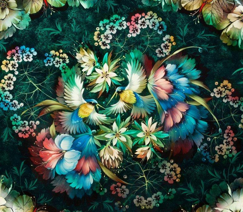 Выставка «Цветы иптицы»