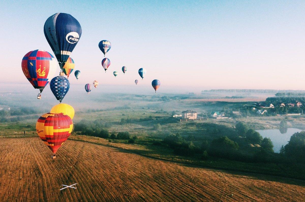 Фестиваль воздухоплавания «Небо: теория ипрактика» 2019