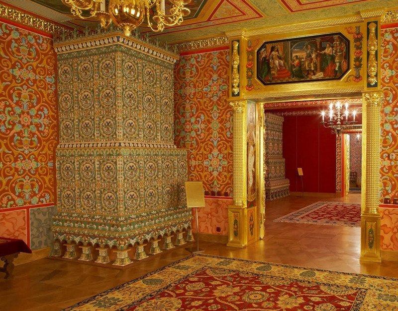 Выставка «Печные изразцы Дворца царя Алексея Михайловича»