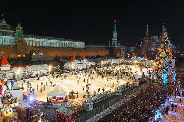 ГУМ-Каток наКрасной площади 2015