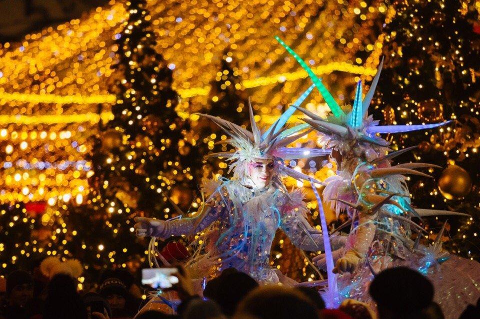 Новогодняя ночь 2020 вМоскве