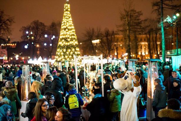 Новогодняя ночь 2019 всаду «Эрмитаж»