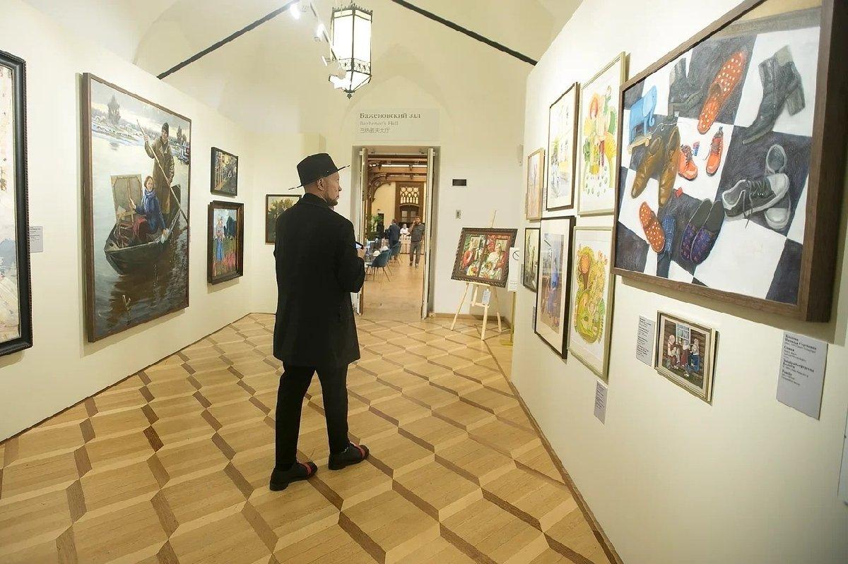 Выставка «Семья— душа России» 2020