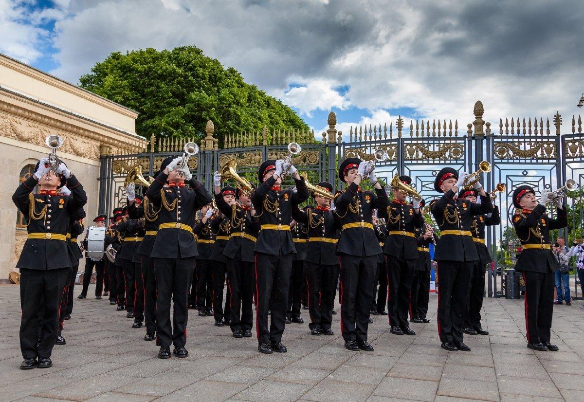 Сезон концертов «Военные оркестры впарках» 2019