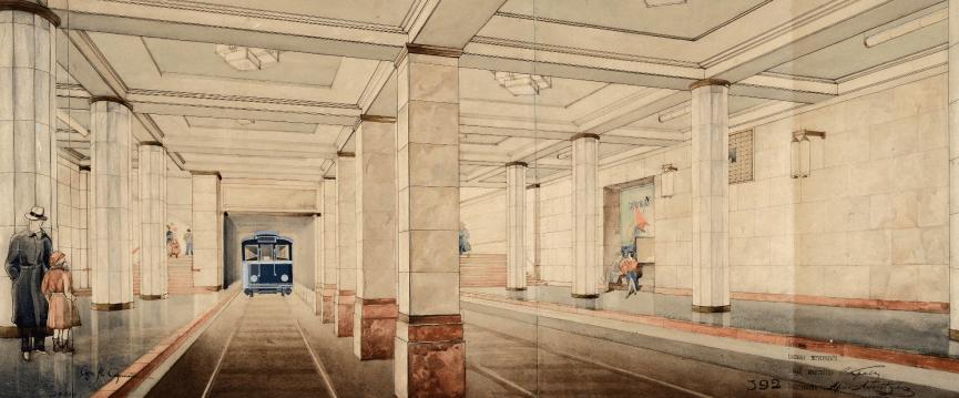 Выставка «Ретроскоп Московского метро»