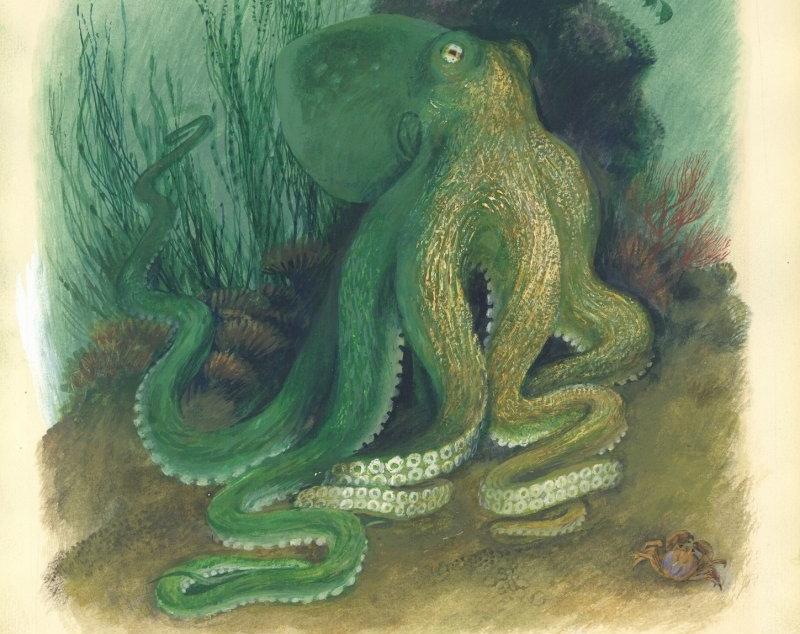 Выставка «Разноцветное море Николая Устинова»