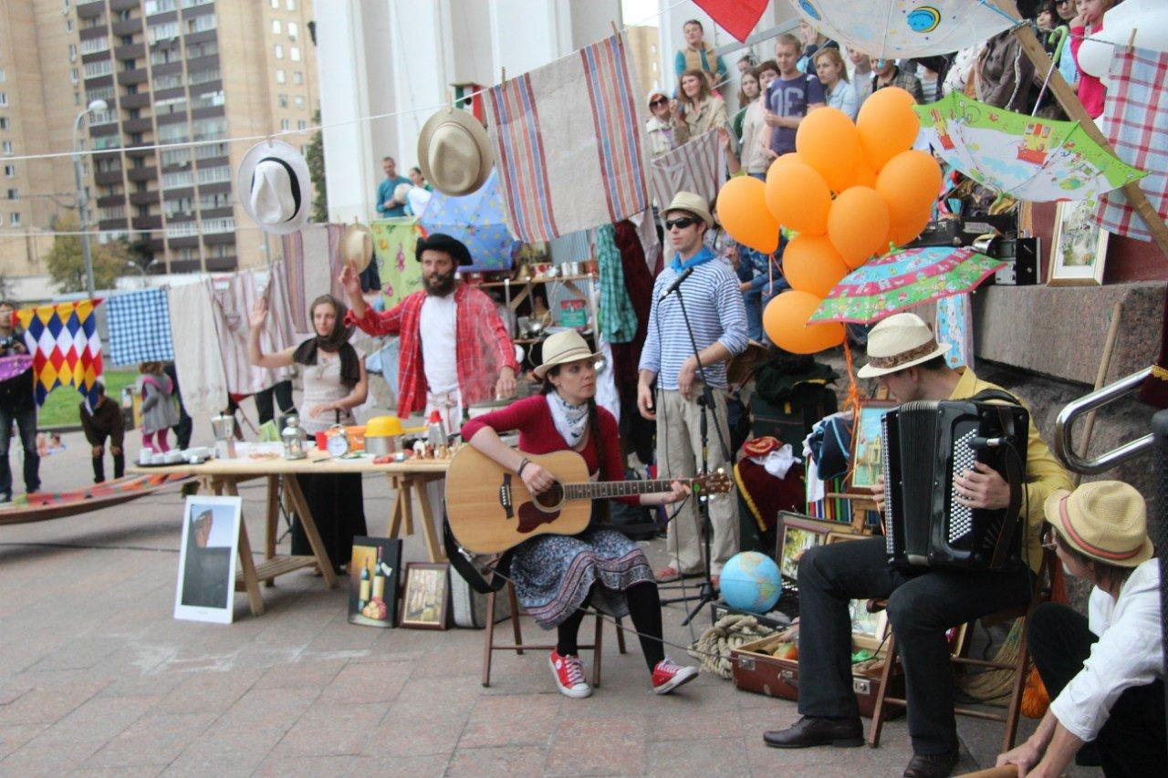 Фестиваль необычных театров «Лестница» 2016