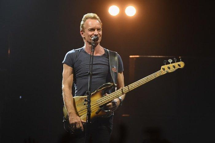 Концерт Sting вМоскве 2017