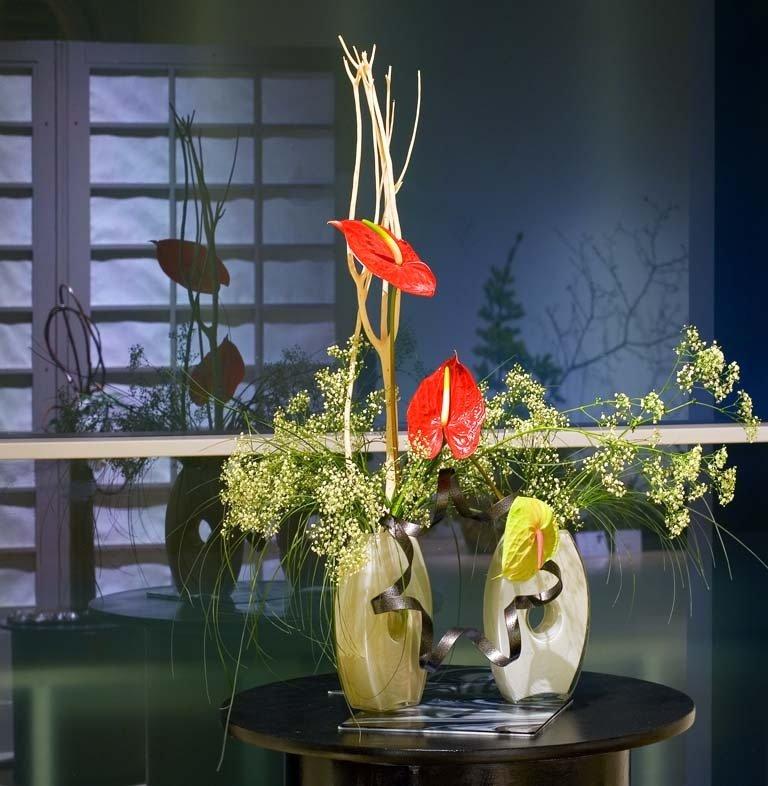 Выставка «Мимолётная красота природы вкомпозициях икебана. Зима»