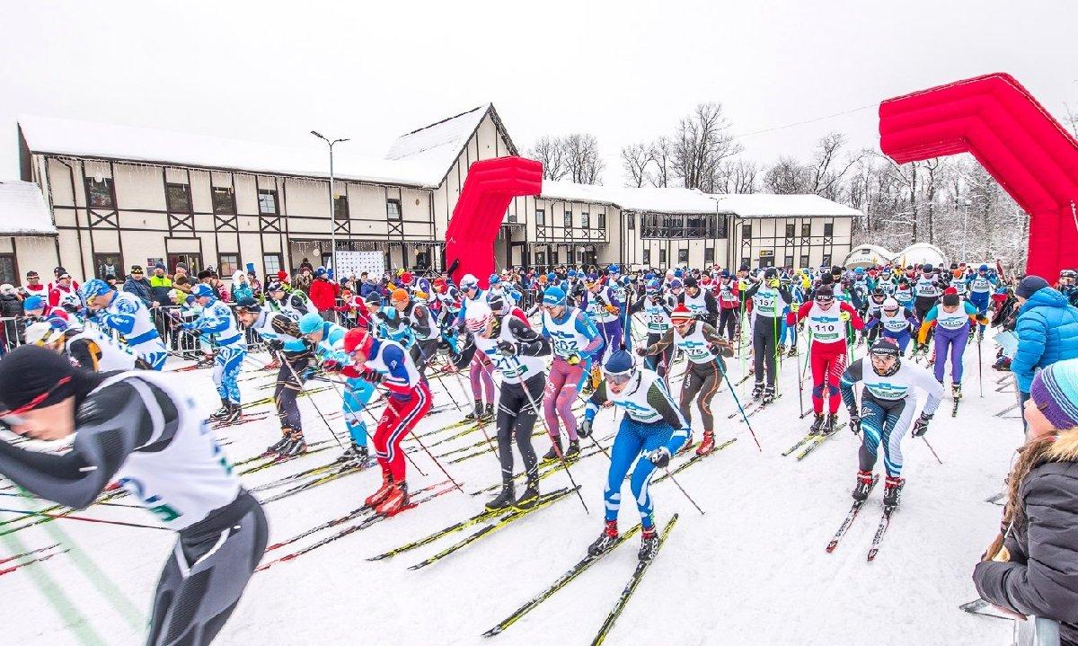 Фестиваль «Новогодняя лыжня» 2016