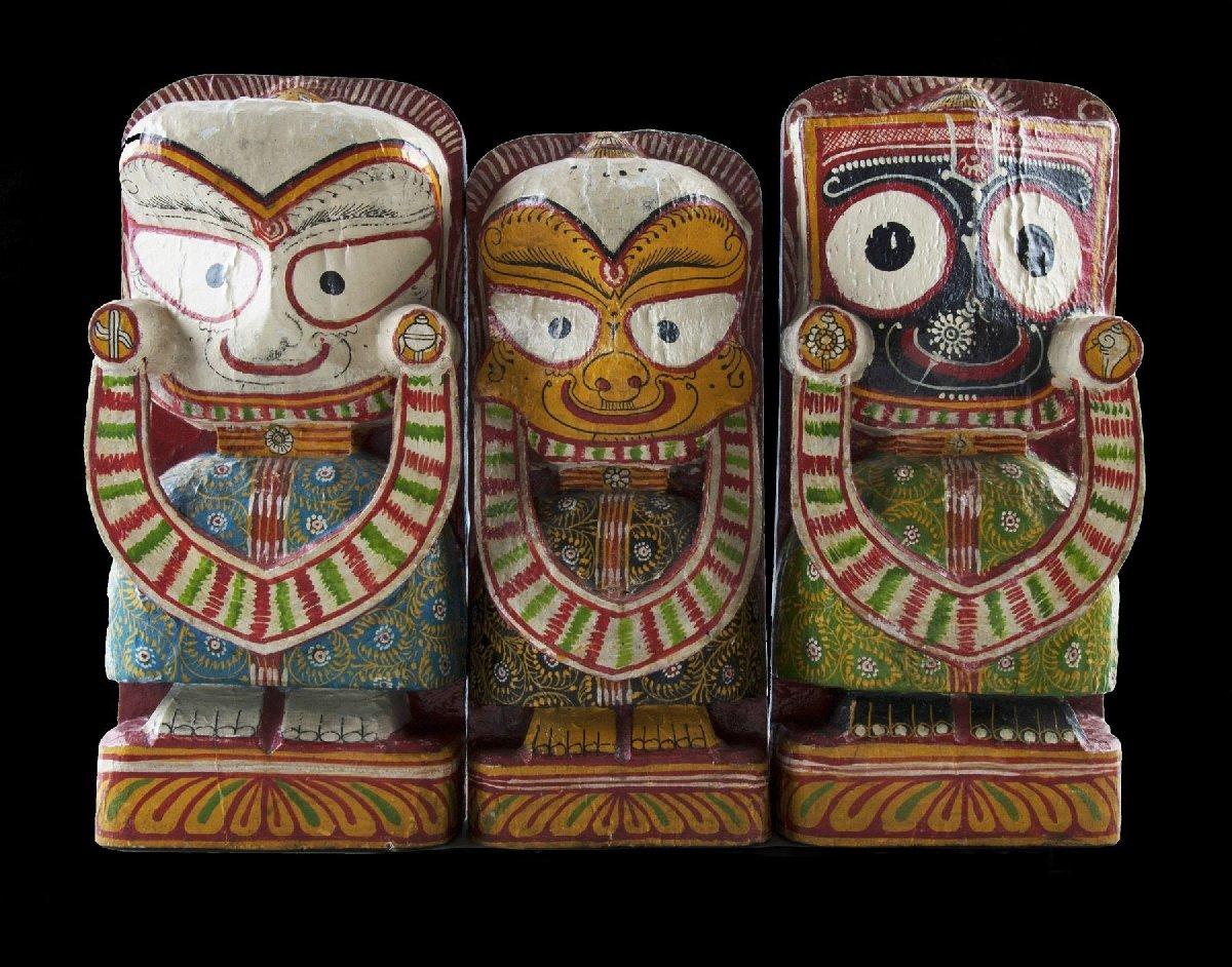 Выставка «Орисса– земля Джаганнатха»