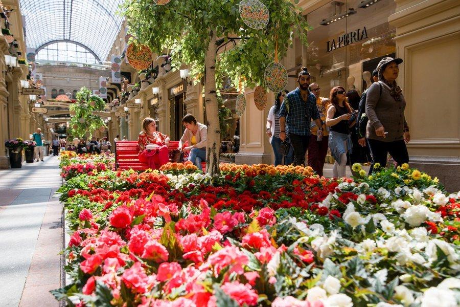 Фестиваль цветов в гуме 2017 до какого числа