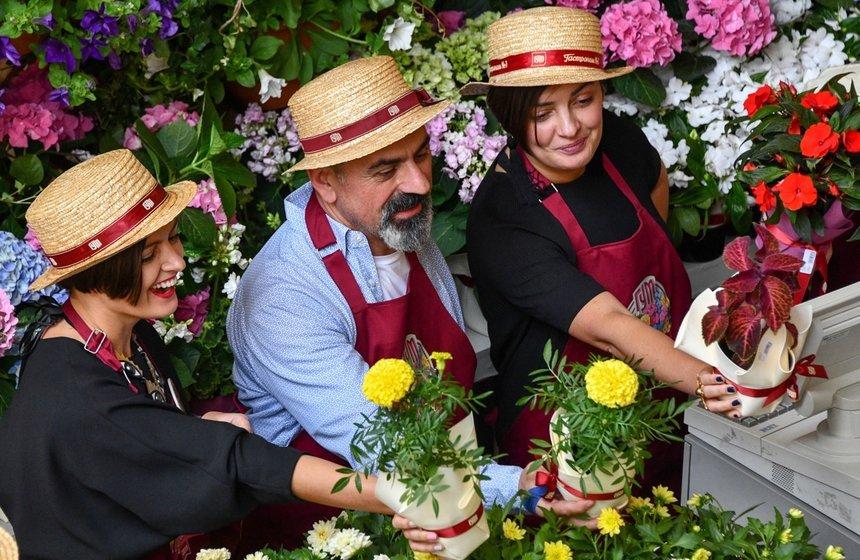 Фестиваль цветов вГУМе 2019