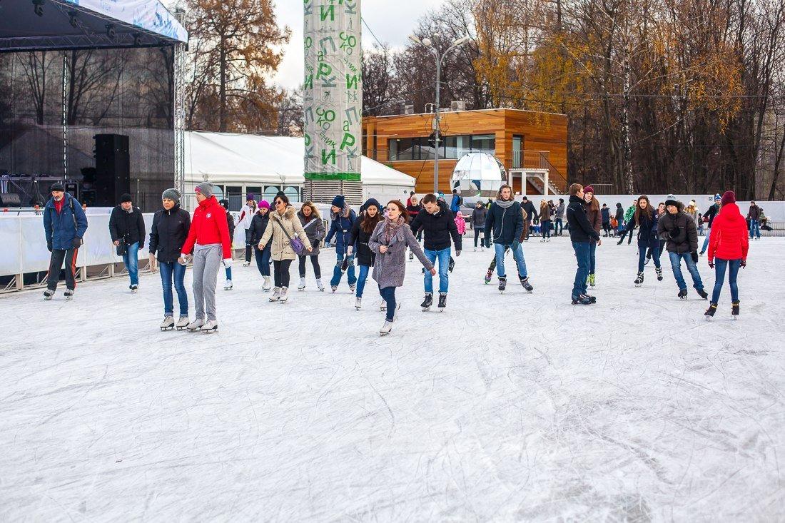 Каток «Лед» вПарке «Сокольники» 2015