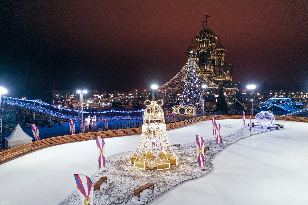 Фестиваль зимних развлечений впарке «Патриот» 2020/2021