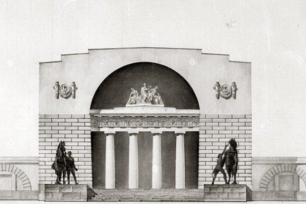 Выставка «Античность вархитектурном наследии Москвы»