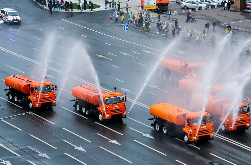 Московский парад городской техники 2019