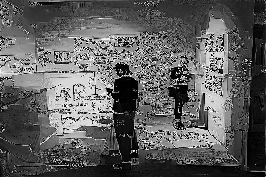 Выставка «Будни распознавателя образов»