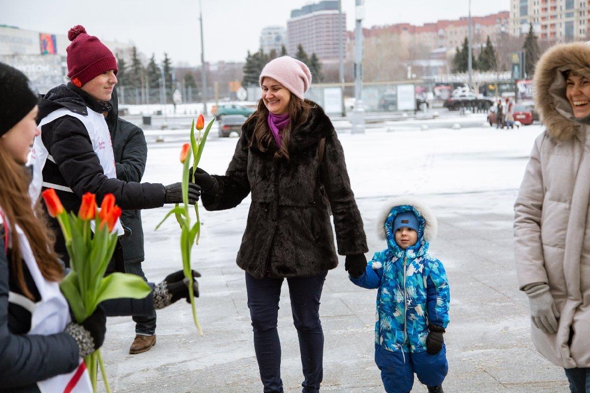 8 марта вПарке Горького 2021
