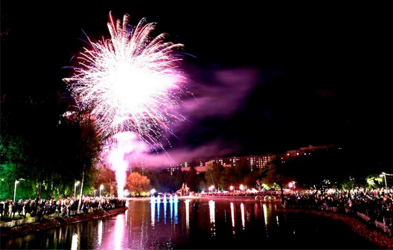 День города вЛианозовском парке 2016