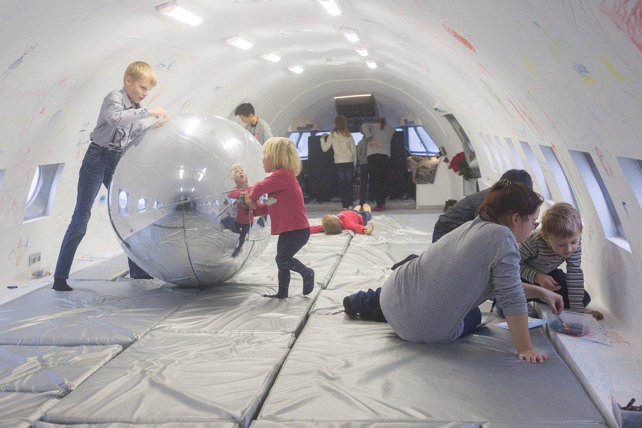 Выставка «Недоступно для взрослых. Настоящий детский самолет»