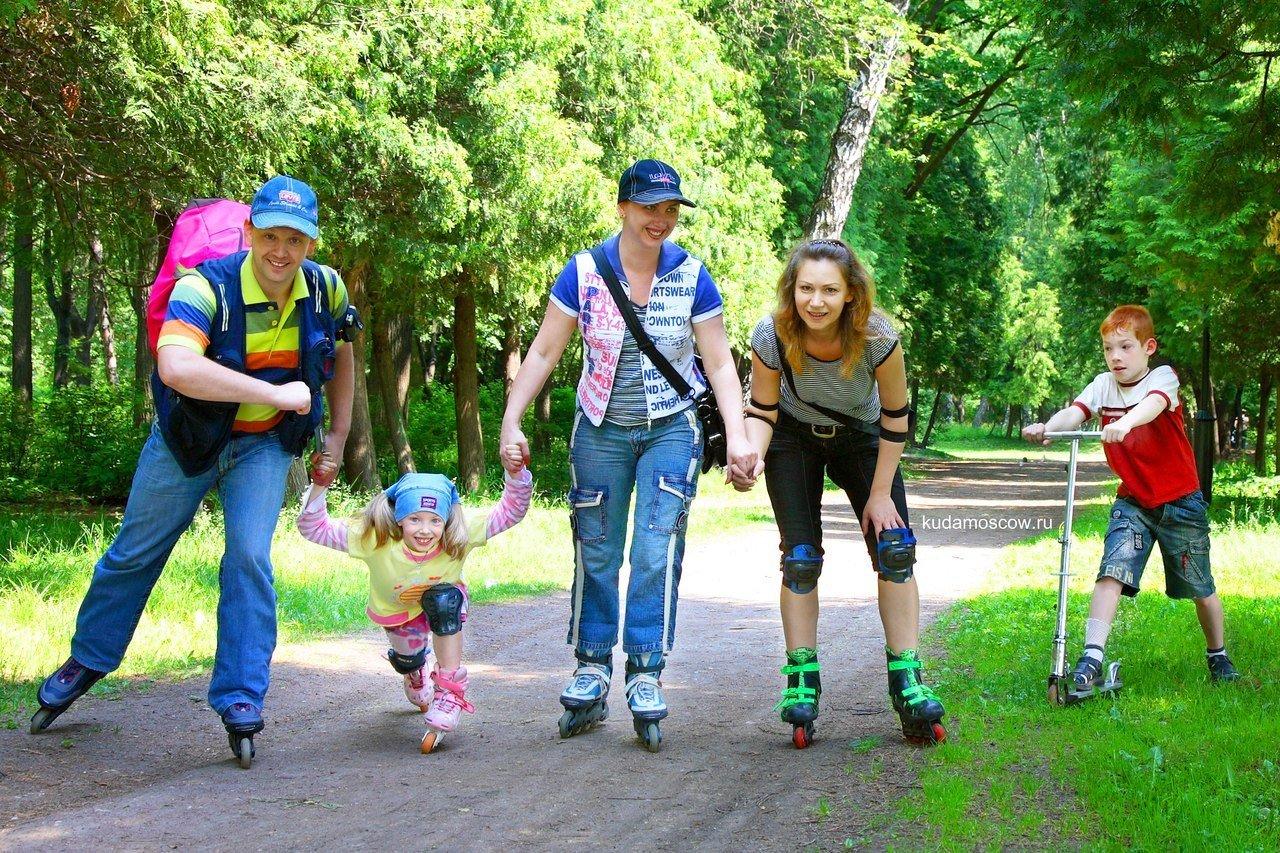 Школьные каникулы вмосковских парках