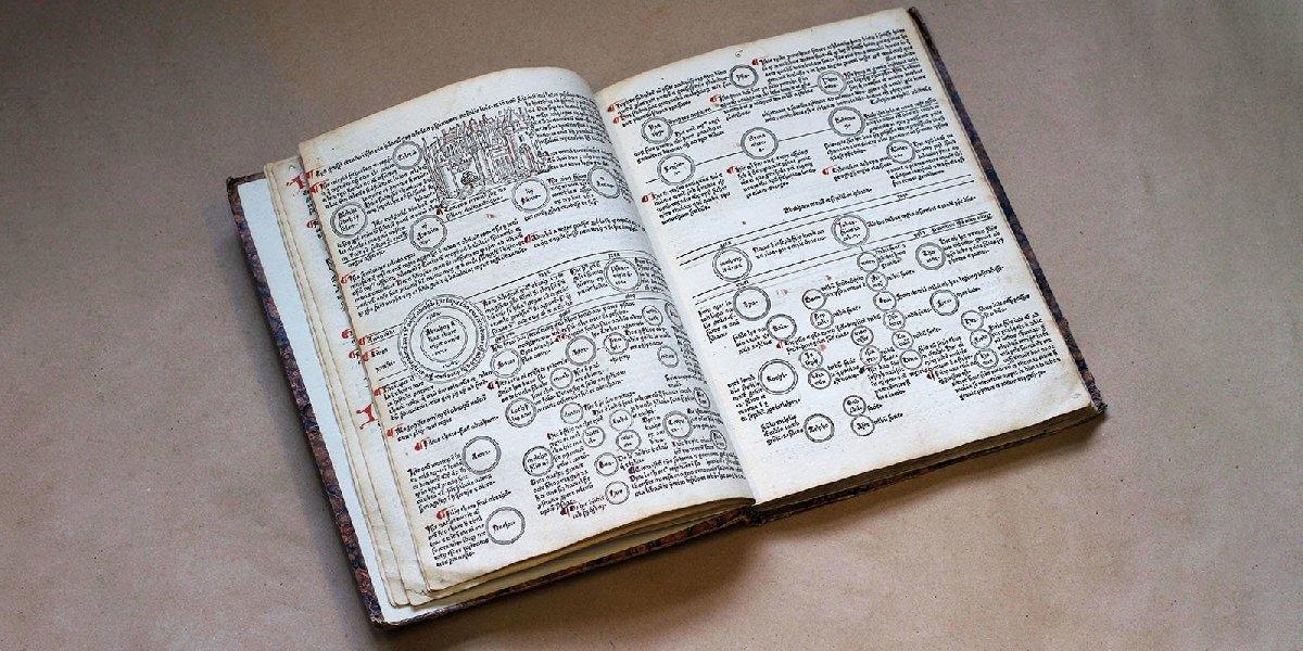 Выставка «Библия Гутенберга: начало нового времени»