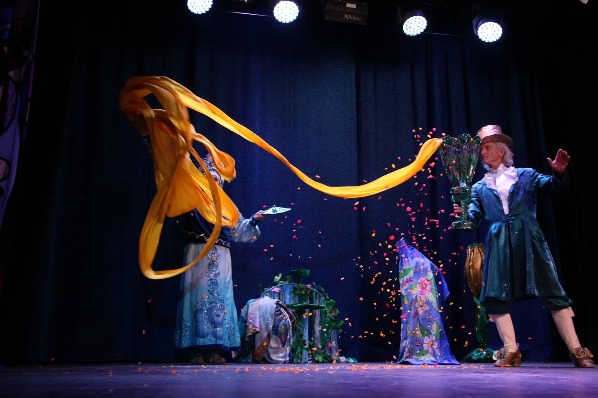 Семейное иллюзионное шоу «Звезды Магии»