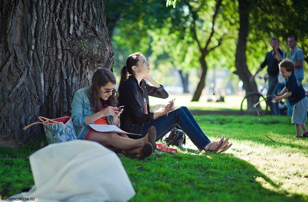 пациентов фото людей в парке вычислениях для наглядности