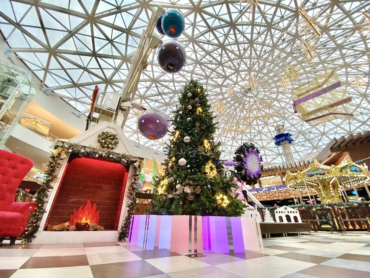 Новый год вкрытом парке аттракционов «Happylon» 2020