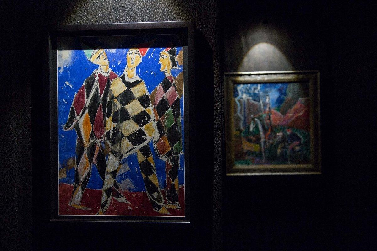 Выставка«Моисей Фейгин. Исмеюсь, иплачу»