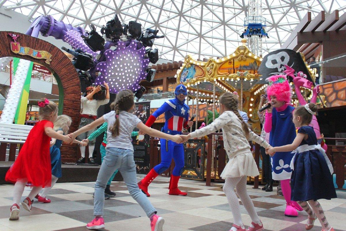Развлечения ипраздники вкрытом парке аттракционов «Happylon» вТРК VEGAS