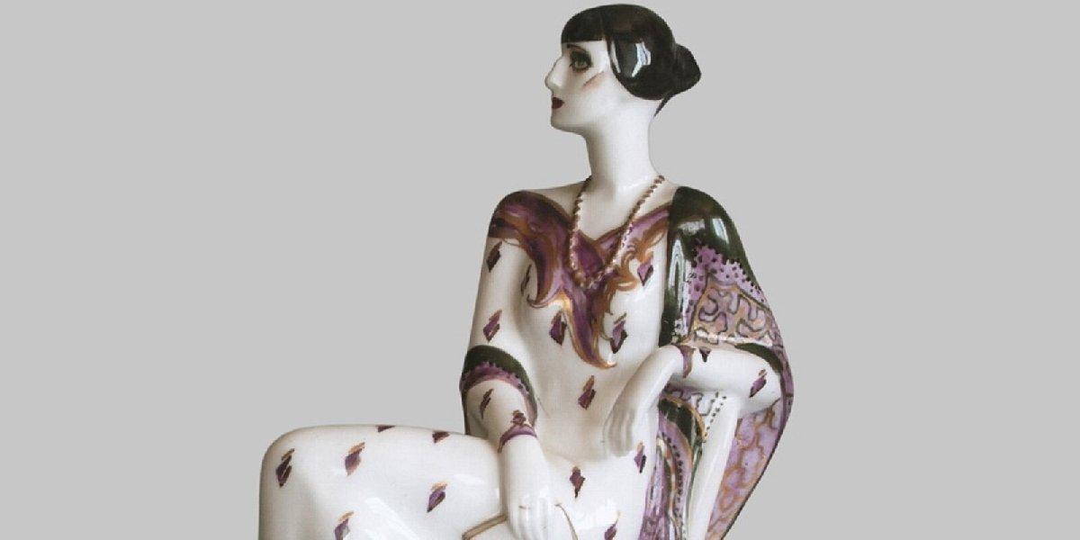 Выставка «Возвращение вРоссию. Эльвира Еропкина— мастер художественного фарфора»