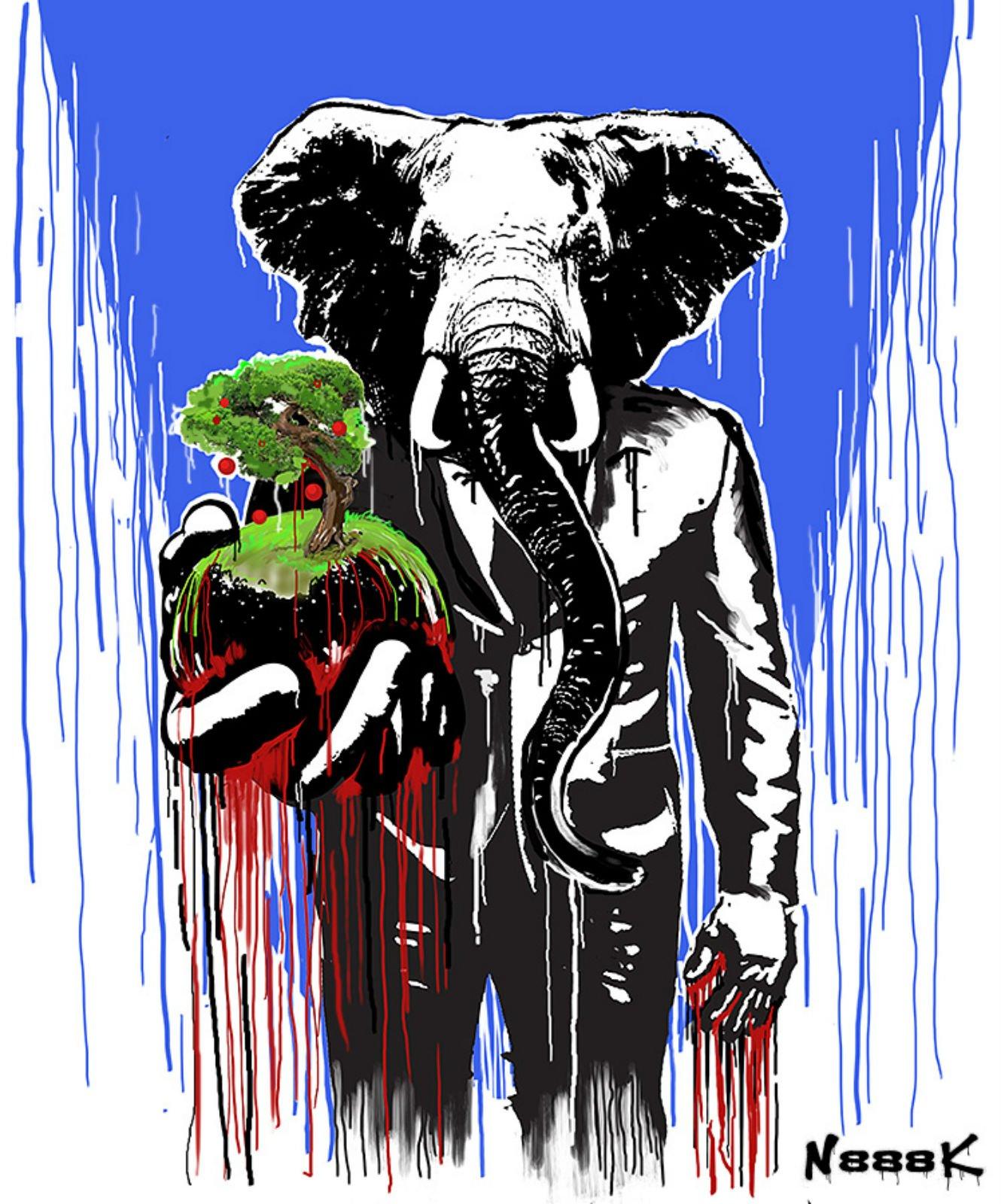 Выставка «Переспелые пальцы слонов»