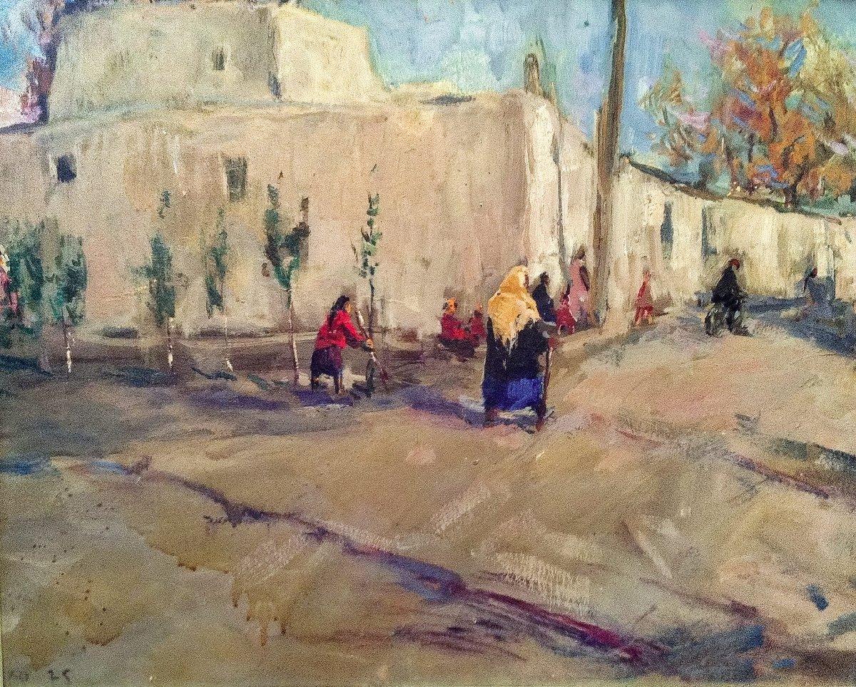 Выставка «Восточные мотивы втворчестве Сергея Скубко иЛюдмилы Скубко-Карпас»