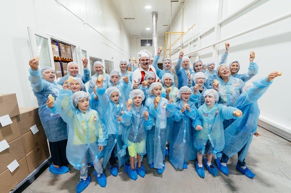 Экскурсия нафабрику мороженого «Чистая линия»