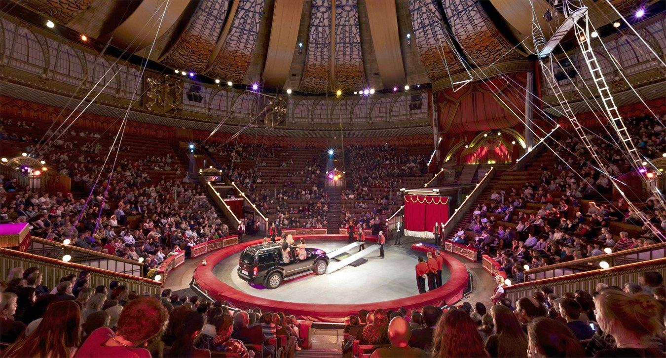 новый спектакль в московском цирке