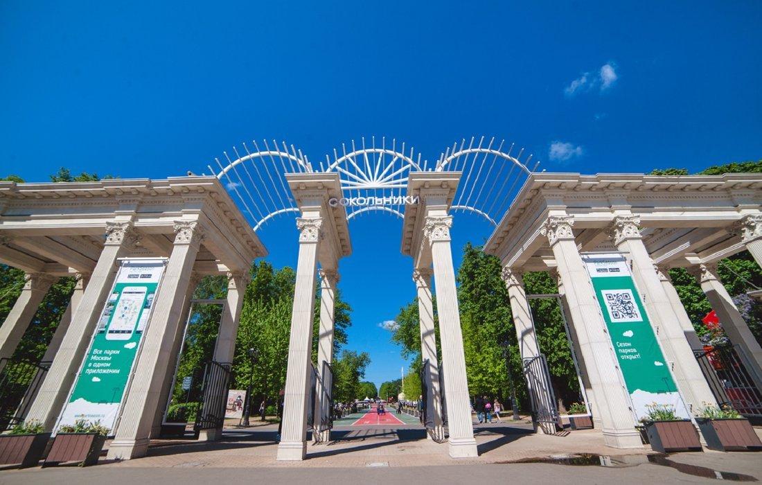 Выставка «Сокольники становятся Москвой»