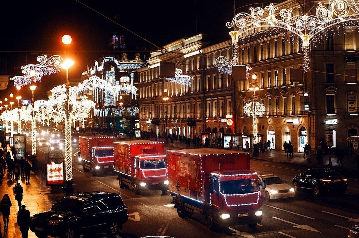 Рождественский Караван Coca-Cola в«Кузьминках» 2016