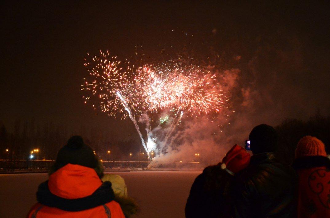 Новогодняя ночь 2017 вИзмайловском парке