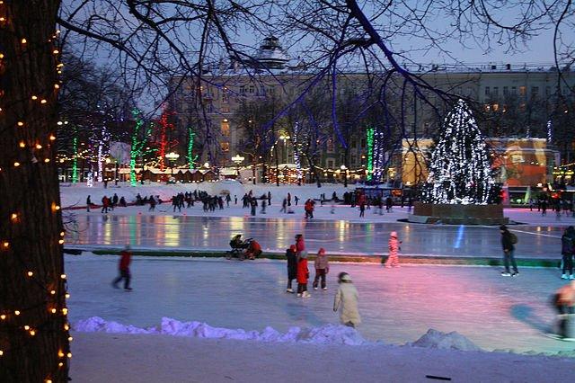 Бесплатные катки Москвы 2015