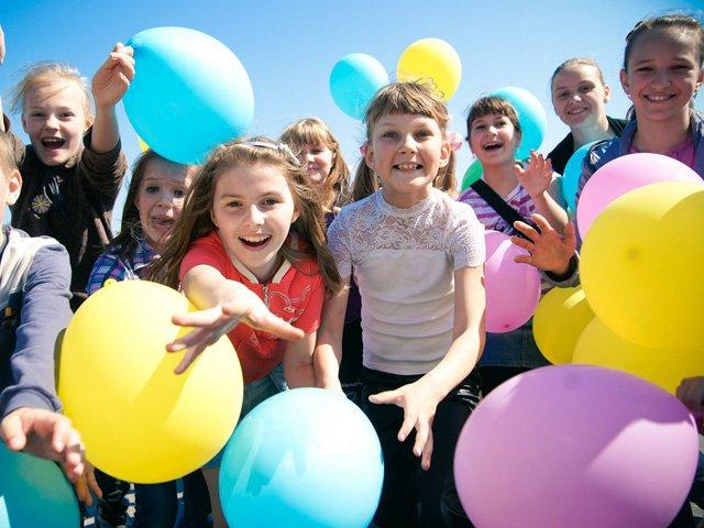 День защиты детей вМоскве 2016