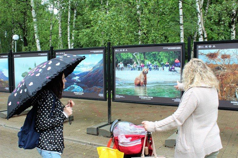 Выставка«Заповедная Россия»