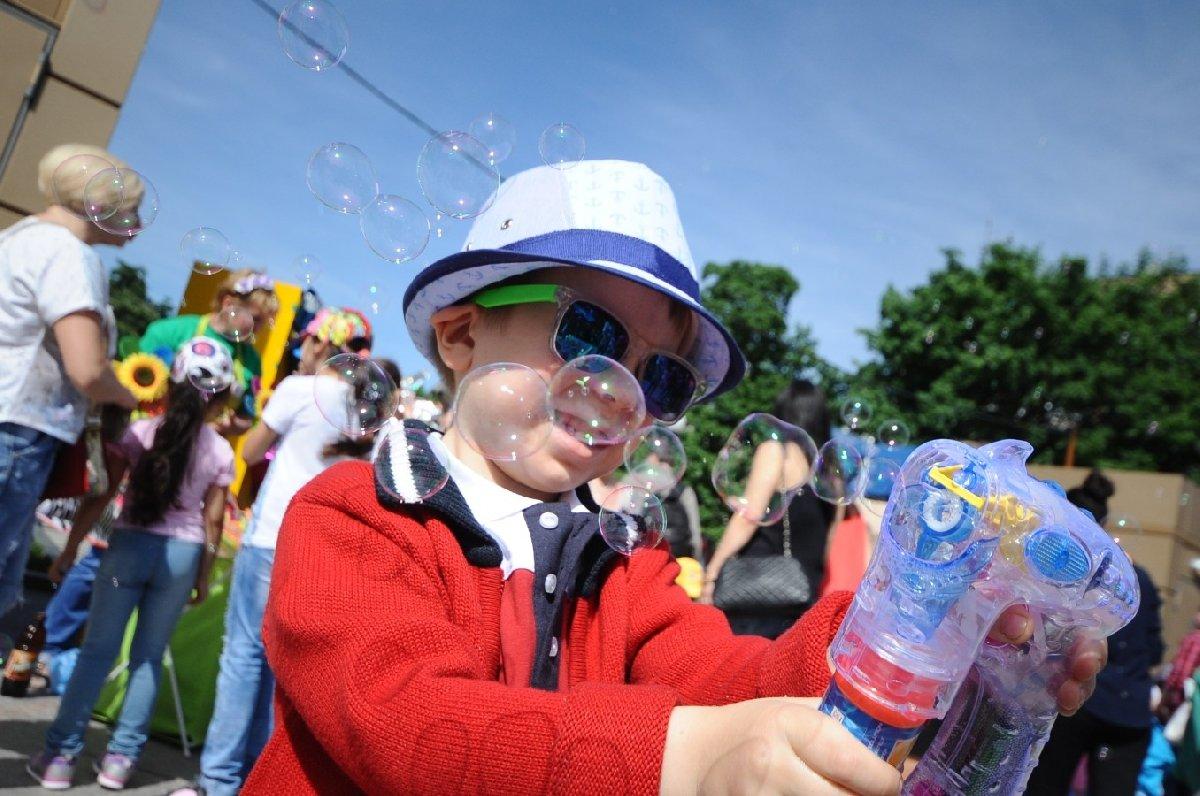 День защиты детей впарках Москвы 2019