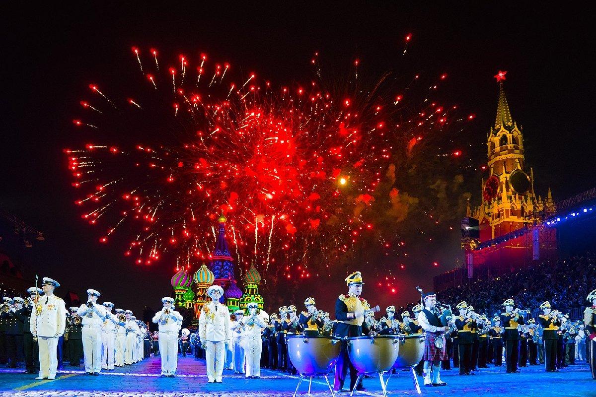 Военно-музыкальный фестиваль «Спасская башня» 2017