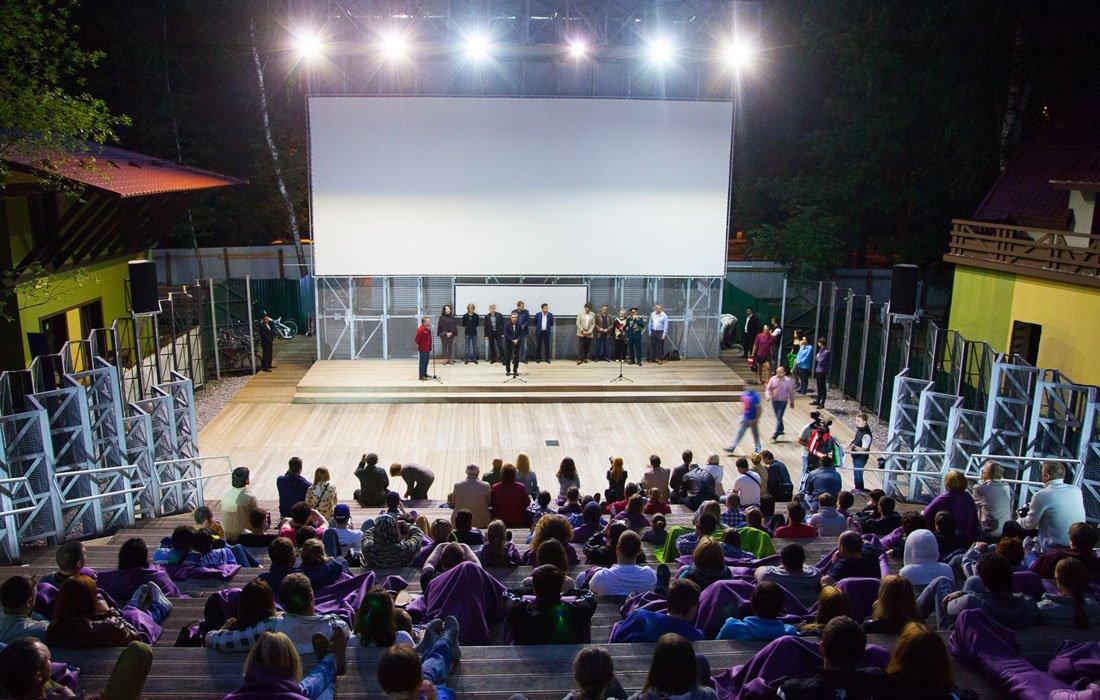 Летний кинотеатр впарке «Сокольники» 2021