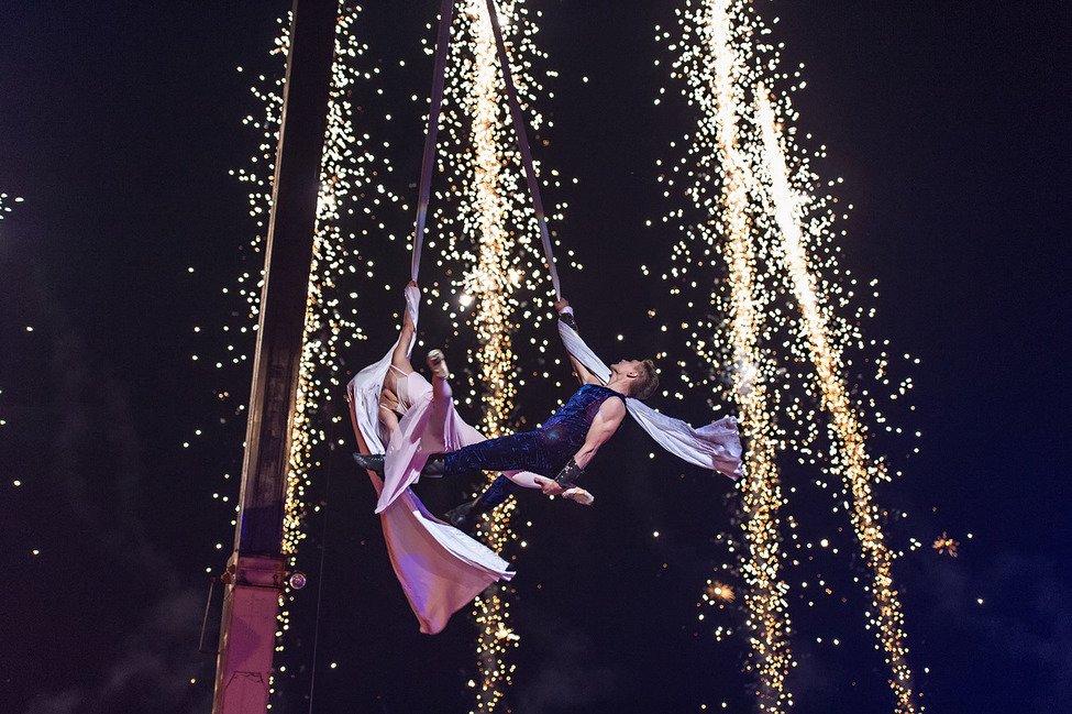 Огненный балет «Ромео иДжульетта»