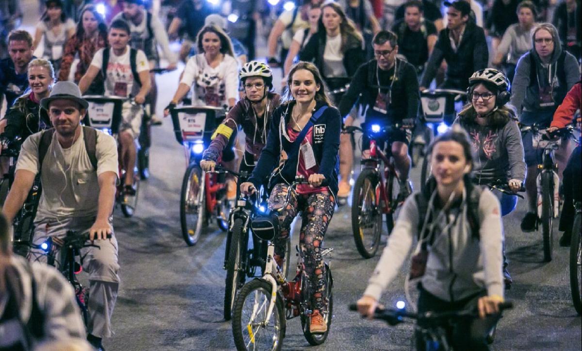 Московская велоночь «Все призраки Москвы» 2019